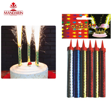 wholesale ice cold fountain smokeless birthday cake candles party stage indoor fireworks