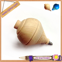 Wholesale all kinds of wooden toy spinning top