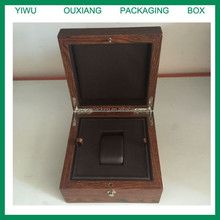 luxury solid old wood finish hot sale top grade old looking watch box