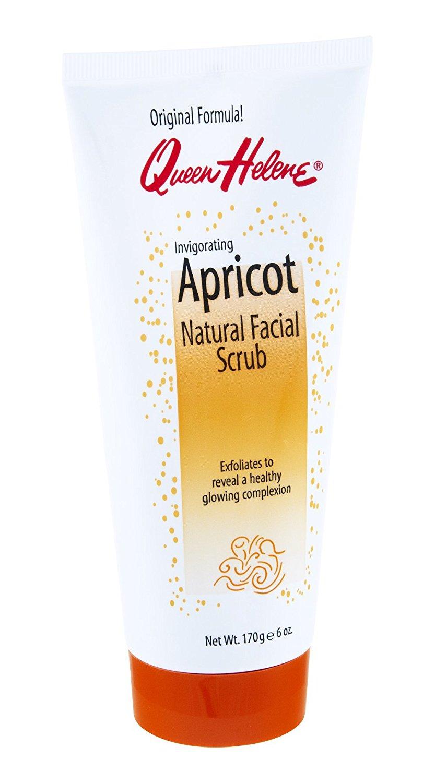 Qh Aprcot Facial Scrub Size 6z Queen Helene Apricot Natural Face Scrub