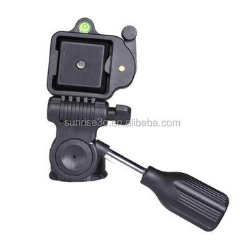 SUNRISE 2-way Pan Tilt Head Tripod Pan Head from China Factory