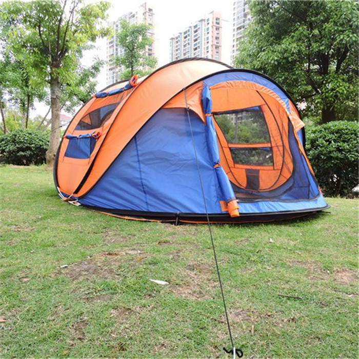 2017 new inventions china outdoor large broadstone camping one touch square pop up bed family camping <strong>tent</strong> for sale