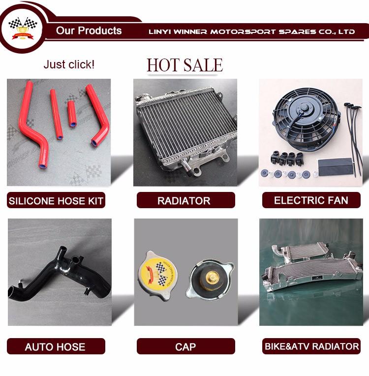 Chinese Golden Supplier 12v Dc Motor Aluminum Radiator Cooling Fan ...