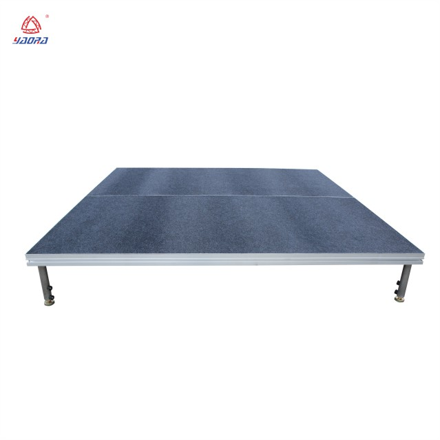 Safety SGS outdoor event assembled aluminum performance movable mobile concert dance stage platform yh-wt11
