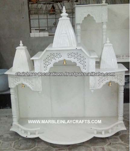 White Marble Mandir for Home Manufacture