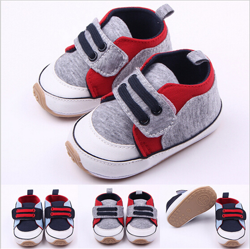 2015 Fashion Hard Sole Baby Shoes Antislip Infants Boys Girls First Walkers For 0 12 months