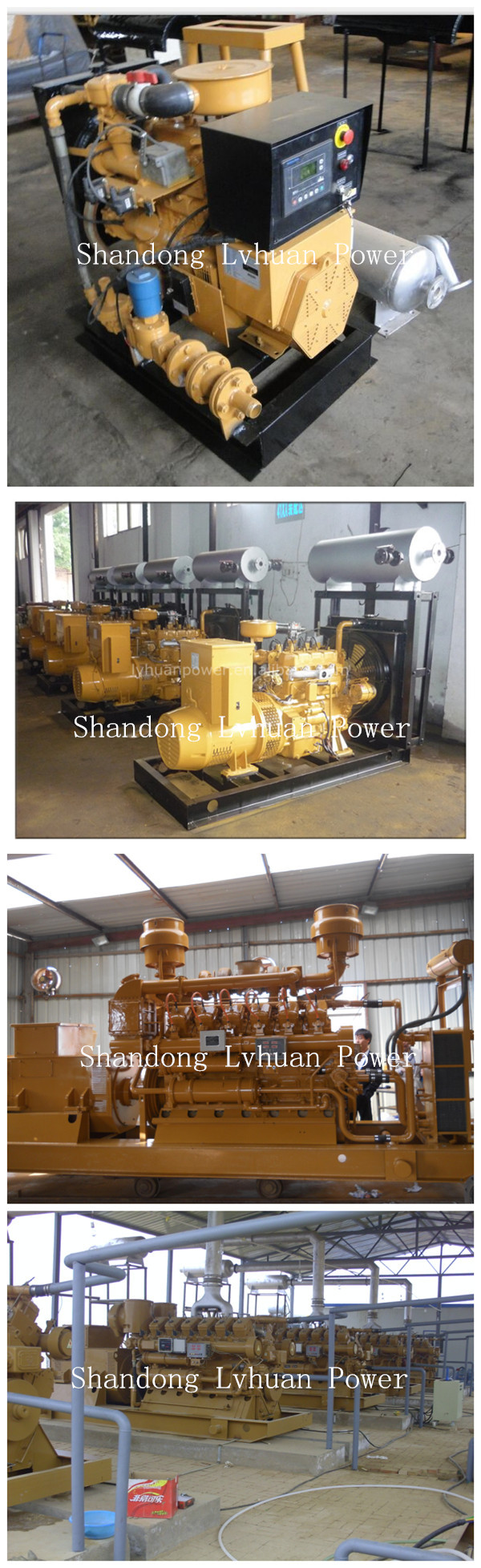 Ce Approve Natural Gas Engine Power 250kva Gas Generator Set