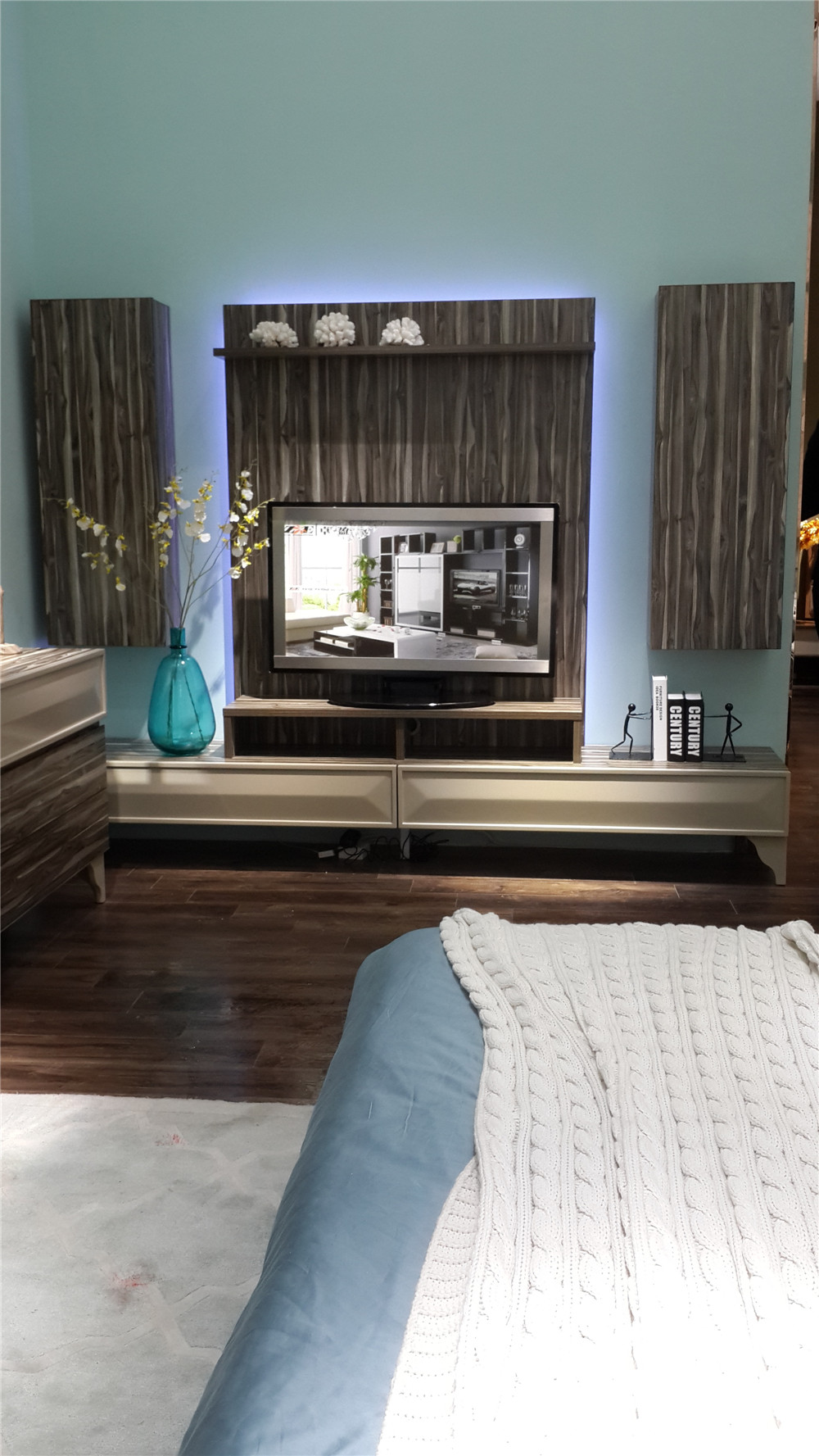 Room Showcase Designs Recommended Mdf Living: Wooden New Model Tv Cabinet With Showcase/living Room Led