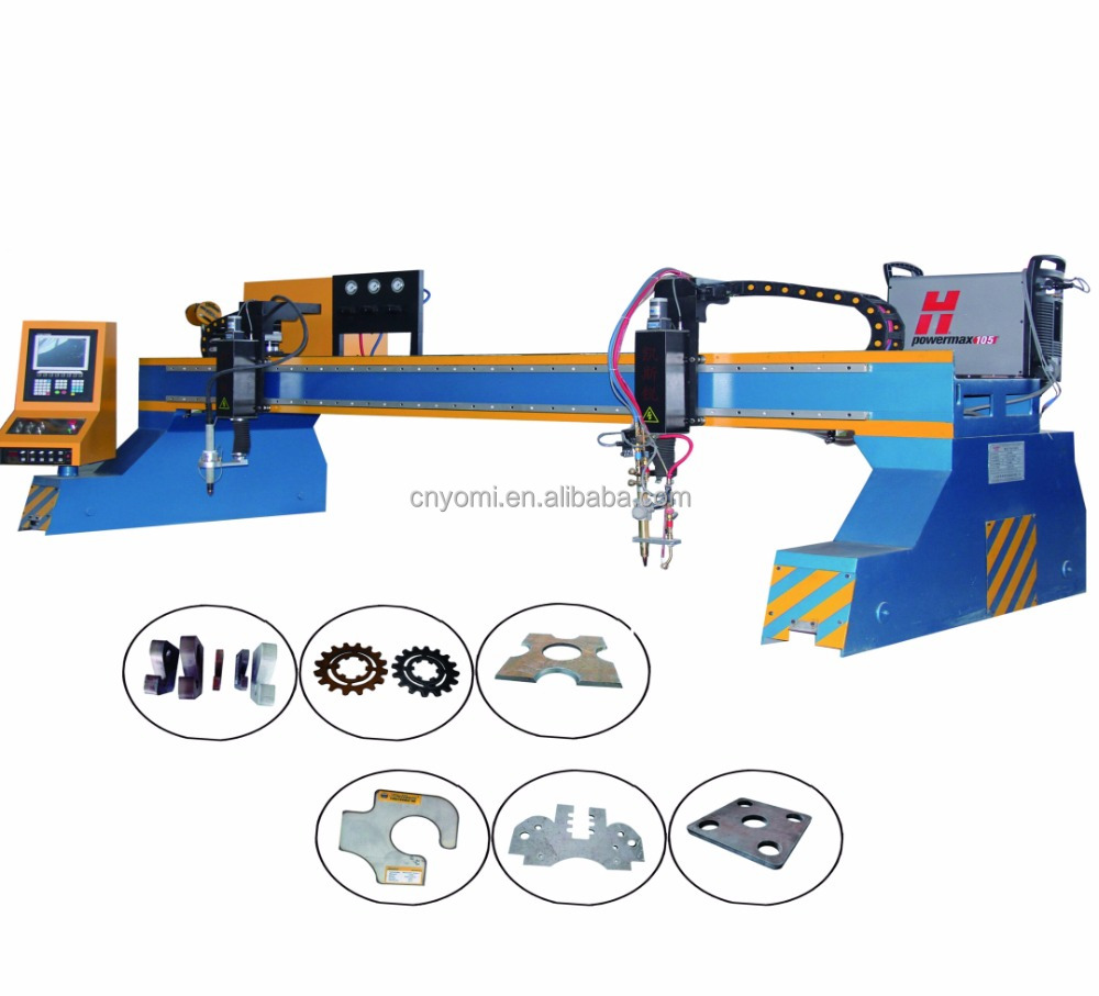Automatische metalen snijmachine cnc cutter machine plasma cut
