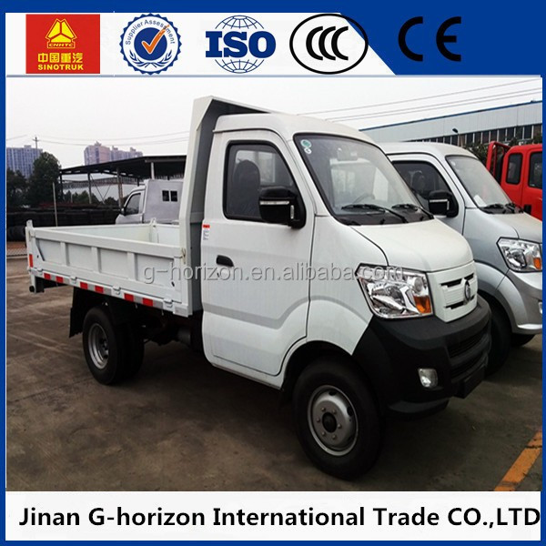 Sinotruk howo 4X2 LHD mini 1-3 ton delivery lorry truck for sale