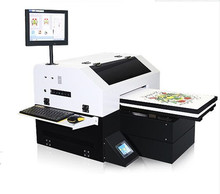 A3 flatbed t-shirt doek printer machine dtg printer
