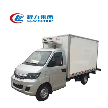 d729721eb3 1 ton fruit small van truck 2ton refrigeration truck 4x2 beer truck for sale
