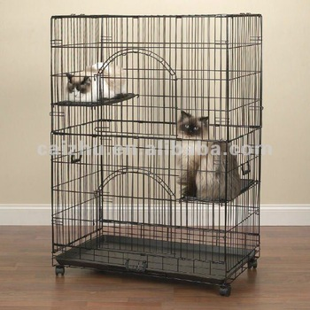 how to make a cat cage