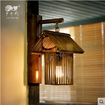 Japanese style bambo lights staircase hotel bedroom zen wall lamp japanese style bambo lights staircase hotel bedroom zen wall lamp mozeypictures Image collections