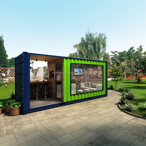 10ft 20ft container house for home/office/bar