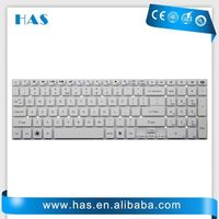 Brand new Laptop keyboard for Packard Bell TV11CM TV11HC Spanish White
