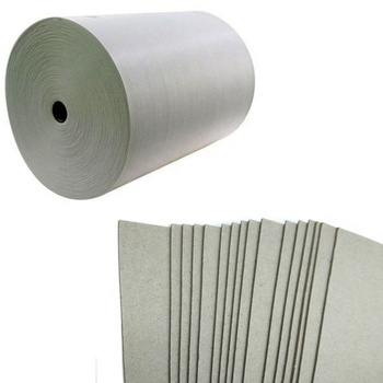 Wholesale price 350gsm paper grey board roll