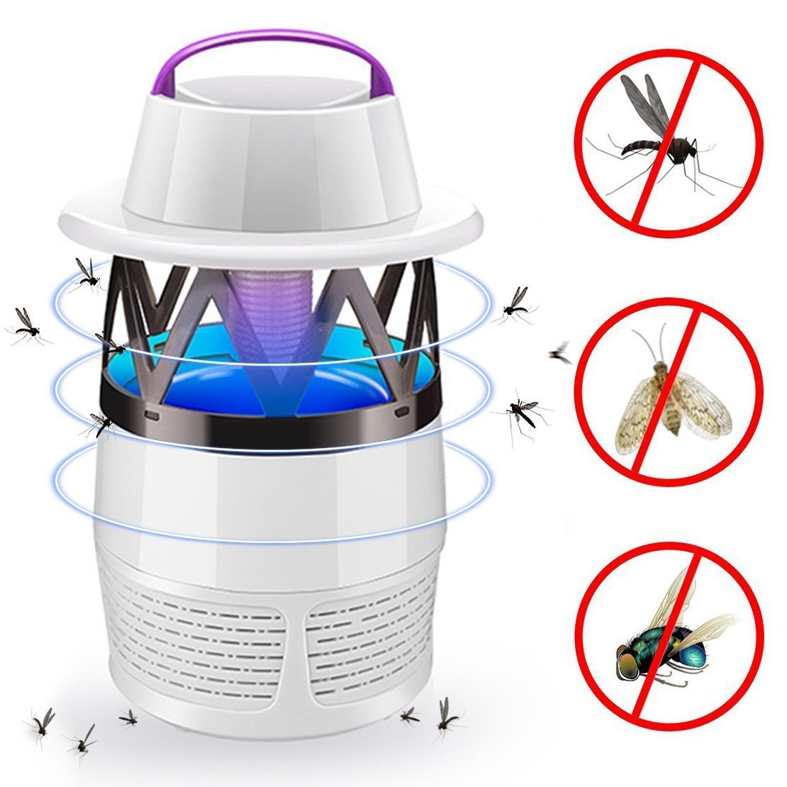Cheap Bug Zapper For Mosquitoes Find Mosquito Killerelectric Killerinsect Killermosquito Get Quotations Light Bulb Lamp Fly Killer Electronic Insect Usb Powered Led