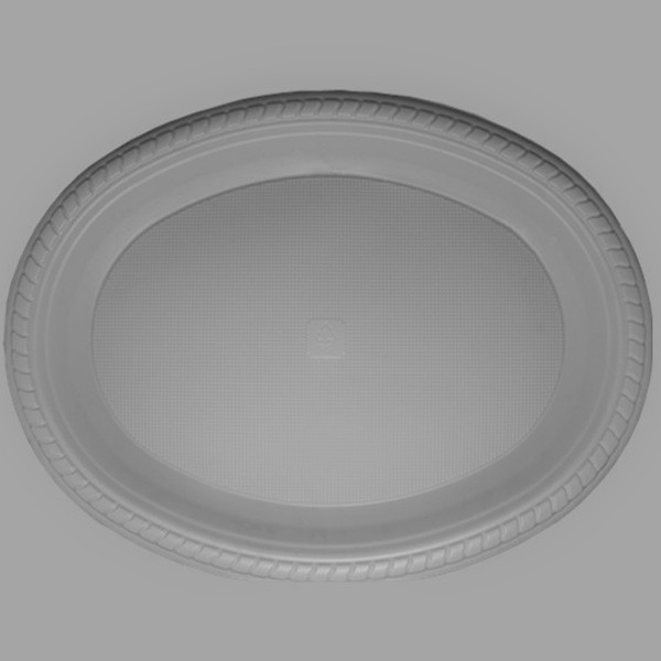 7x9 inch disposable oval plastic plates dinner dishes cake & Disposable Ps Plastic Plates Food Dishes Snack Tray Buy ...