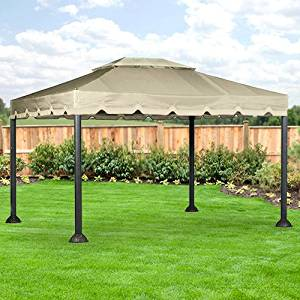 Get Quotations · 10 X 12 Garden House Gazebo Replacement Canopy and Netting - RipLock 350 & Cheap Gazebo Canopy Replacement Covers 10x12 find Gazebo Canopy ...