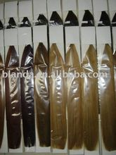 Non Processed Virgin Remy Hair Weft/weaving/micro loop can be Dyed or Bleached optional