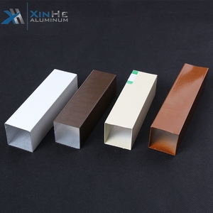 Aluminum Hollow Section Profile Modular Kitchen Cabinet Aluminium Square Profile