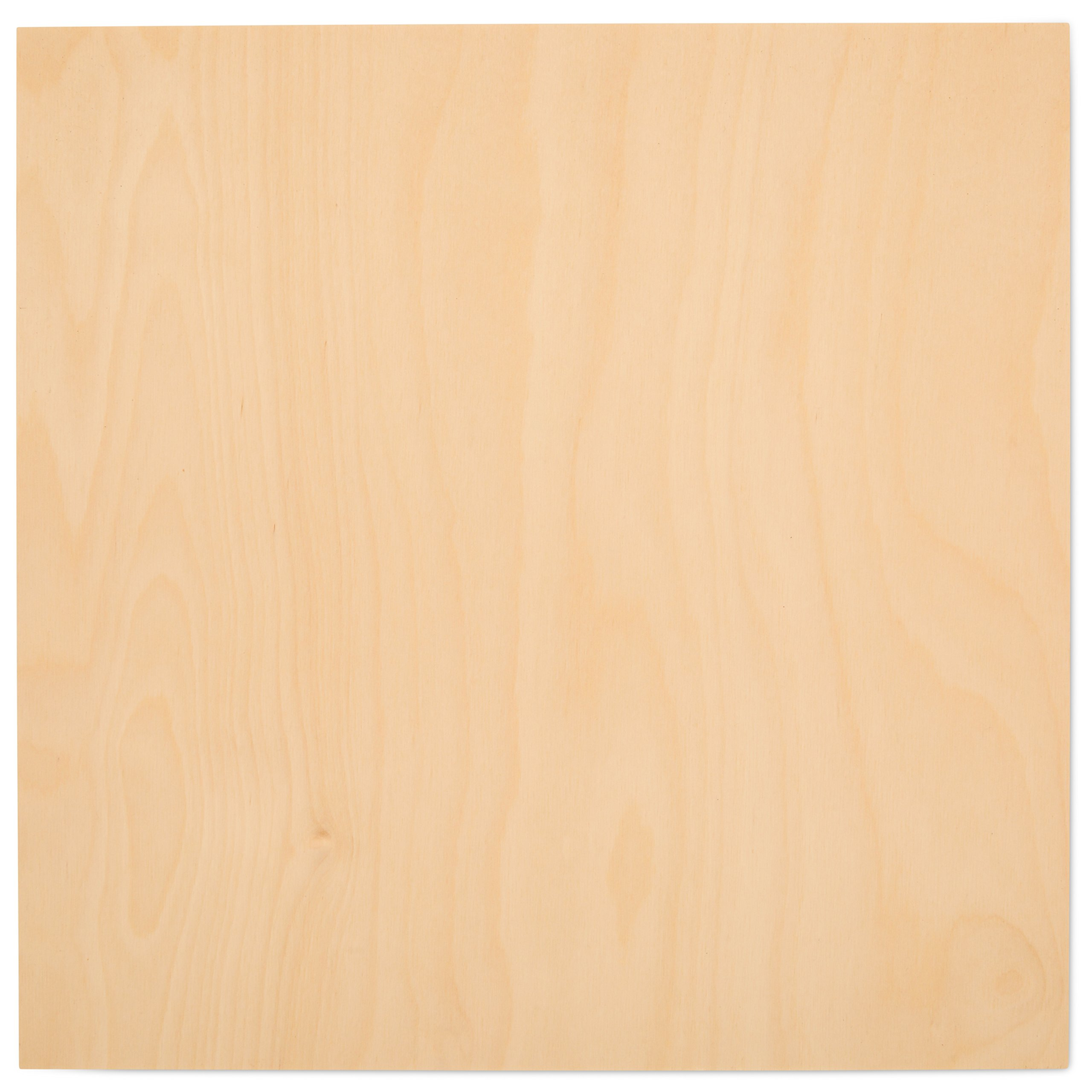 "3 mm 1/8"" X 12"" X 12"" Premium Baltic Birch Plywood – B/BB Grade - 45 Flat Sheets By Woodpeckers"
