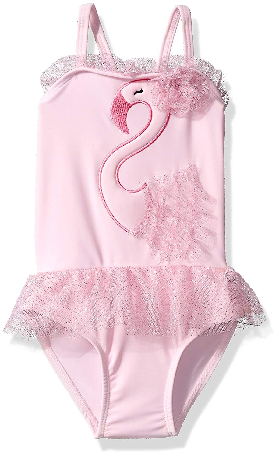 06c94157c8461 Get Quotations · SOL Swim Little Girls  Solo Swim-Toddler-Swan Lake One  Piece Swimsuit