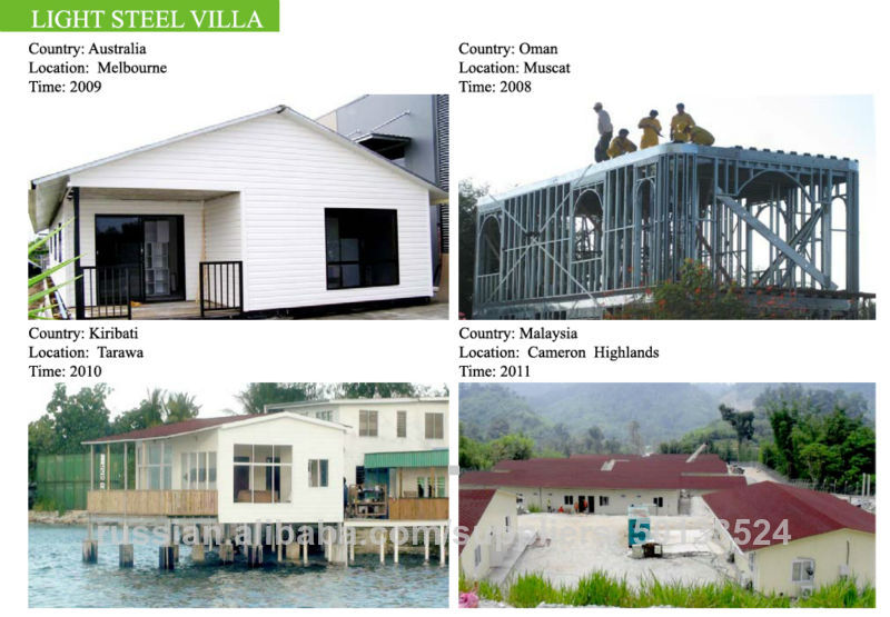 Light Weight Steel Structure Frame House Lgs Houses House Design ...
