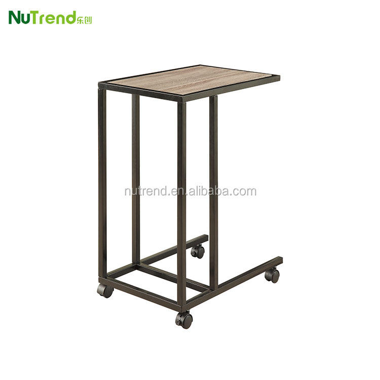 Cheap Small Metal Side Table With Wheels Buy Side Table Small