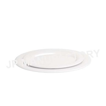 Hotel Use 100% Melamine White 12 inch Oval Dinner Plate  sc 1 st  Alibaba & Hotel Use 100% Melamine White 12 Inch Oval Dinner Plate - Buy Dinner ...