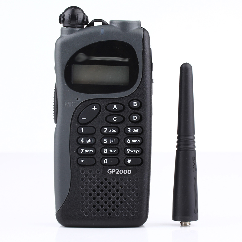 two way radio uhf/vhf 136-174 /400-480mhz walkie talkie gp2000 High power handheld wireless <strong>communication</strong>