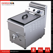 CHINZAO Zhejiang Hot Sales Products Automatic Gas Chip Deep Fryer For Buyer