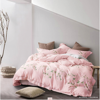 Kosmos Best Quality Factory Price Tencel Fabric Bed Linen Bedding Set