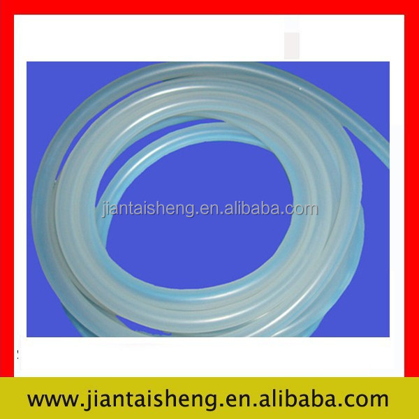 Clear silicone/nbr viton rubber doll tube