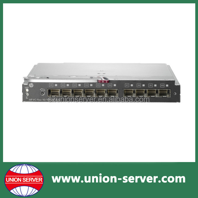 662048-B21 Virtual Connect Flex-10/10D Module Enterprise Edition for BLc7000 Option