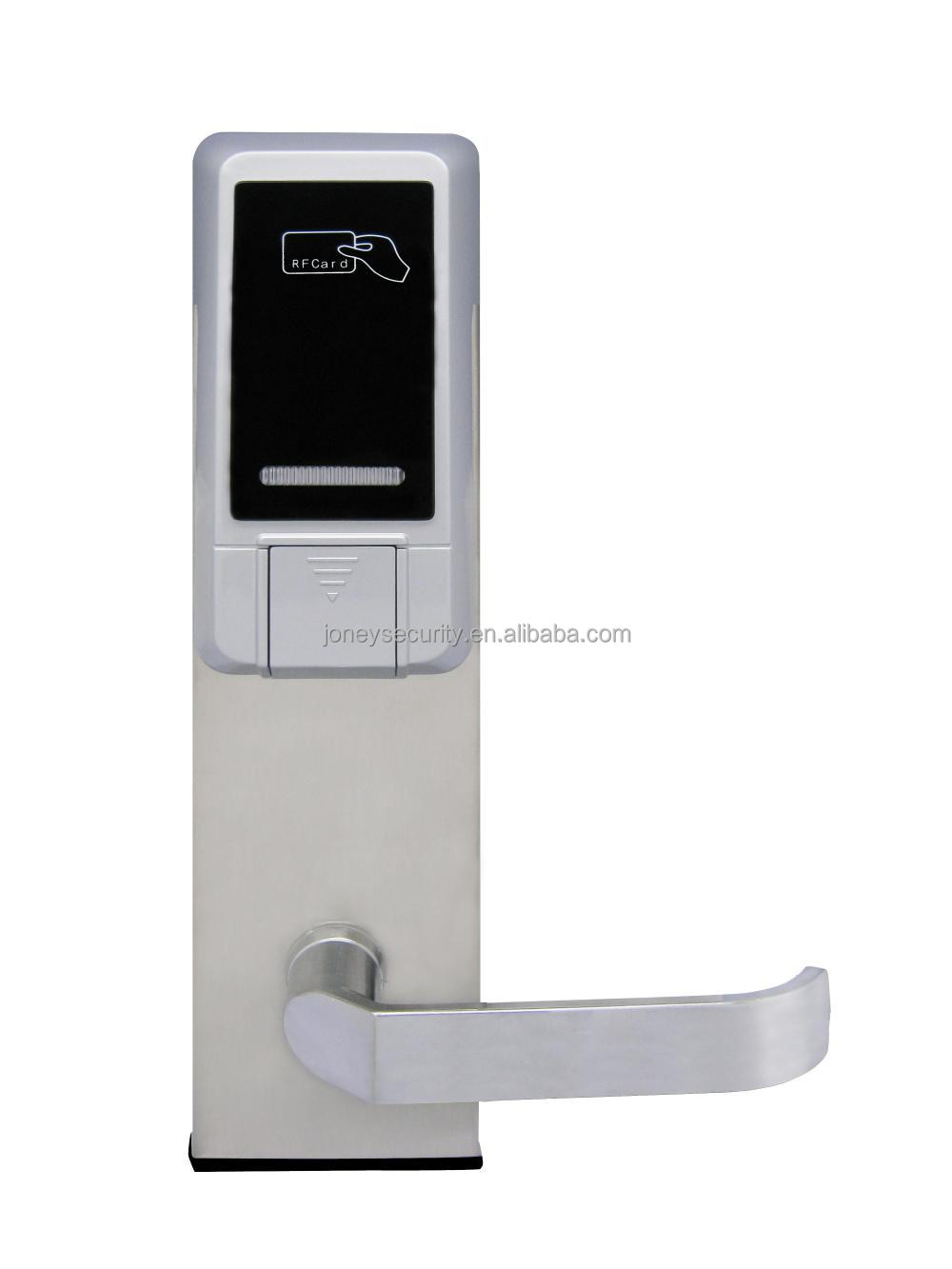Joney (lh2600) High Quality Card Reader Rfid Key Card Hotel Door Lock - Buy  Hotel Key Card Lock,Rfid Door Lock,Hotel Door Lock Product on Alibaba com