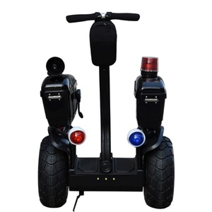 Adult Personal Transporter Freegoing Two Wheels Smart Self Balancing Police Electric Scooter