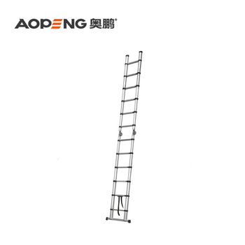 Aluminium Double Sides Telescopic Ladder With Big Hinge Ap-509a-380 - Buy  Telescopic Double Sides Ladder,Big Hinge,Telescopic Ladder Product on