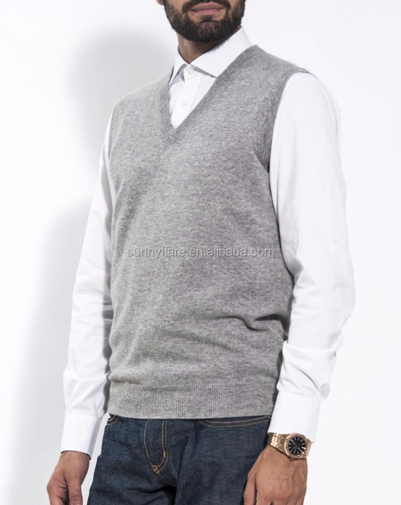 Hot Selling Men's Cashmere Vest Sweater