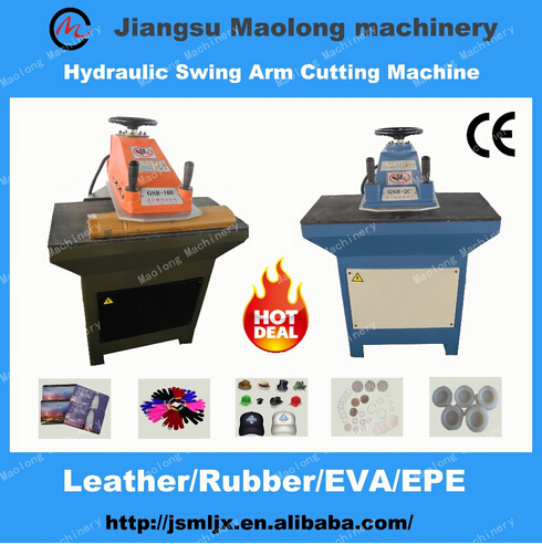 Hydraulic Swing Arm Cutting Machine/Cutting press/Clicking machine