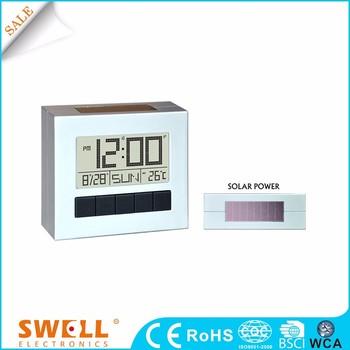8952b071daf32b Carré livraison plat solaire puissance de bureau numérique réveil pour  bureau