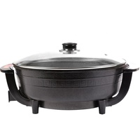 Wholesale round electric skillet pizza pan