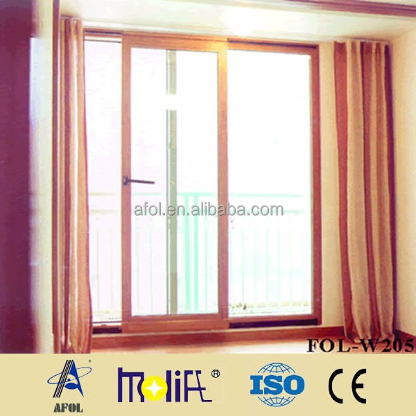 Zhejiang AFOL Hot sell new design customize OEM Aluminum Sliding Window With Mosquito Screen