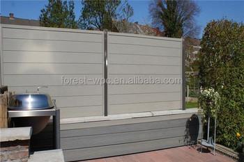 Steccato Giardino Plastica : Pvc schermo privacy sichtschutz balkon giardino roll steccato