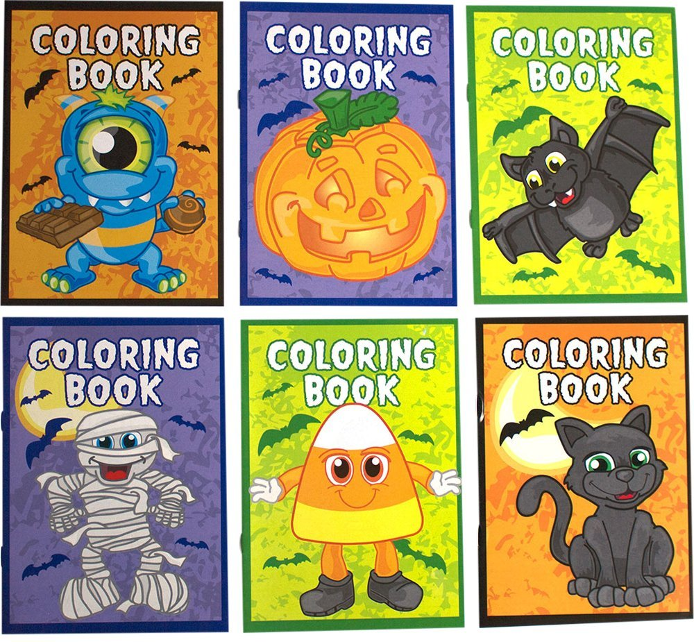 get quotations halloween coloring book bundle includes 12 books 2 of each style and 1 non - Halloween Printable Book 2