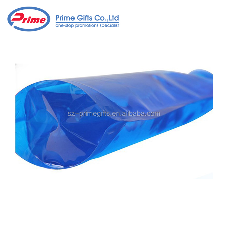 Wholesale Blue Camping Plastic Sports Foldable Water Bottle with Custom Logo