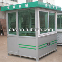 2015 Stainless steel prefab guard house for sale