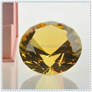Wedding Gifts Wholesale Shining Loyal Crystal Gems Paperweight