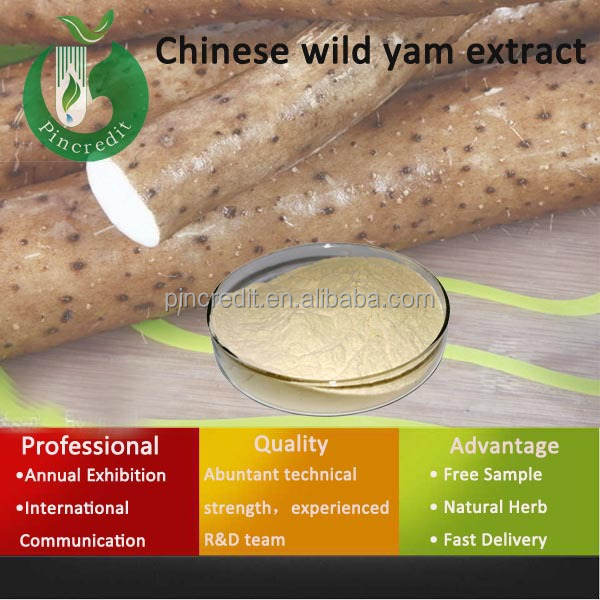 Plant Extract Diosgenin/pure Nature Wild Yam Extract Powder ...
